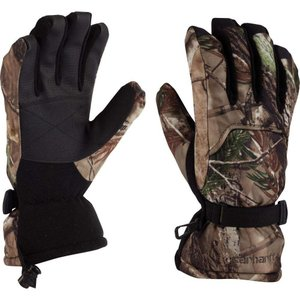 カーハート Carhartt メンズ 手袋・グローブ gauntlet camo insulated gloves Realtree Xtra|fermart2-store