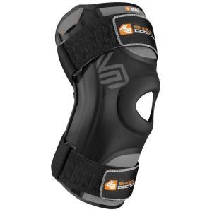 ショックドクター ユニセックス サポーター フィットネス・トレーニング Shock Doctor Knee Stabilizer w/ Flexible Support Stays Black|fermart2-store