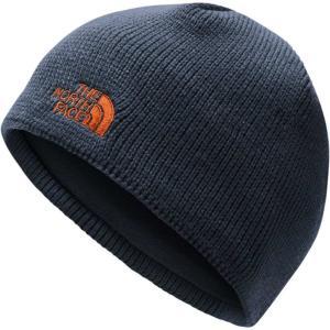 ザ ノースフェイス The North Face メンズ ニット 帽子 Bones Beanie Urban Navy/Persian Orange|fermart2-store