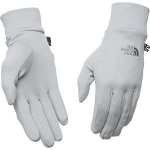 ザ ノースフェイス The North Face ユニセックス 手袋・グローブ Unisex FlashDry Liner Gloves High Rise Grey|fermart2-store