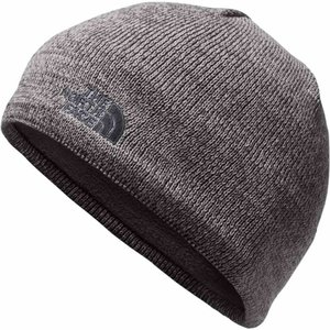 ザ ノースフェイス The North Face メンズ ニット 帽子 Jim Beanie Mid Grey/Asphalt Grey|fermart2-store