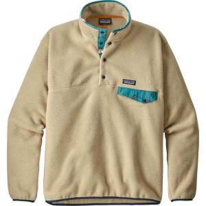パタゴニア Patagonia メンズ フリース トップス Lightweight Synchilla Snap-T Fleece Pullover El Cap Khaki|fermart2-store