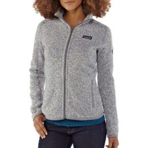 パタゴニア レディース ジャケット アウター Patagonia Better Sweater Fleece Jacket Birch White|fermart2-store
