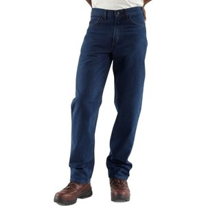 カーハート Carhartt メンズ ジーンズ・デニム ボトムス・パンツ flame resistant relaxed fit straight leg jeans Denim|fermart2-store