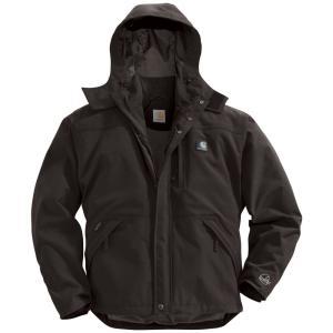 カーハート Carhartt メンズ ジャケット アウター shoreline jacket Black fermart2-store