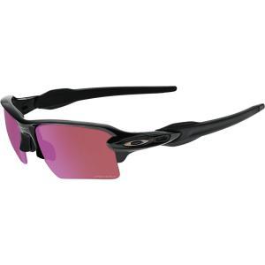 オークリー Oakley メンズ スポーツサングラス Flak 2.0 XL Baseball Sunglasses Polished Black/PRIZM Golf|fermart2-store