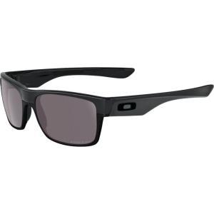 オークリー ユニセックス メガネ・サングラス Prizm Daily Polarized Twoface Covert Sunglasses Matte Black/PRIZM Daily Polarized fermart2-store