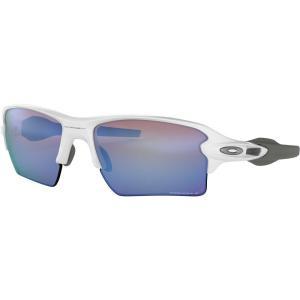 オークリー メンズ メガネ・サングラス Flak 2.0 XL Polarized Sunglasses Polished White/Prizm Deep Water fermart2-store
