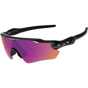 オークリー ユニセックス メガネ・サングラス Oakley Radar EV Path Prizm Road Sunglasses Polished Black/PRIZM Trail fermart2-store