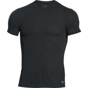 アンダーアーマー メンズ インナー パジャマ・トップのみ Under Armour Core Crewneck Undershirt|fermart2-store