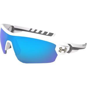 アンダーアーマー ユニセックス スポーツサングラス Rival Multiflection Sunglasses Blue|fermart2-store