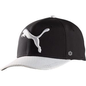 プーマ メンズ キャップ 帽子 PUMA Golf Disc Hat Puma Black|fermart2-store