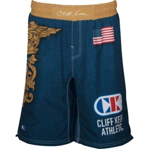 クリフ キーン メンズ ボトムス・パンツ レスリング Cliff Keen Fully Sublimated Wrestling Board Shorts Red/White/Blue|fermart2-store
