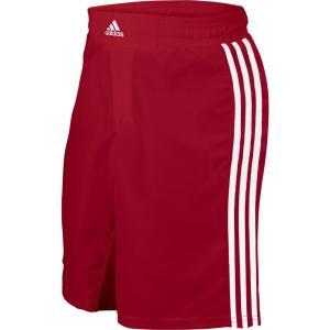アディダス メンズ ボトムス・パンツ レスリング adidas Adult Wrestling Grappling Shorts Red/White|fermart2-store