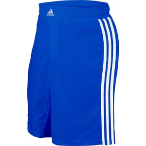 アディダス メンズ ボトムス・パンツ レスリング adidas Adult Wrestling Grappling Shorts Royal/White|fermart2-store