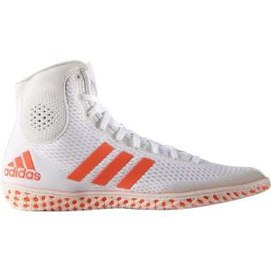 アディダス メンズ シューズ・靴 レスリング adidas Tech Fall Wrestling Shoes White/Red|fermart2-store