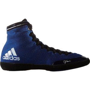 アディダス メンズ シューズ・靴 レスリング adidas adizero Varner Wrestling Shoes Royal/Black|fermart2-store