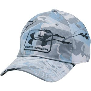 アンダーアーマー メンズ キャップ 帽子 Under Armour Camo Stretch Fit Hat Ridge Reapr Hydro Camo|fermart2-store