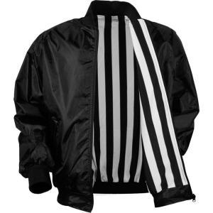 3N2 メンズ アウター 野球 Adult Umpire Reversible Jacket Black|fermart2-store