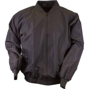 3N2 メンズ アウター 野球 Adult Full-Zip Umpire Jacket Black|fermart2-store