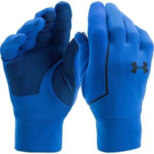アンダーアーマー メンズ 手袋・グローブ Under Armour No Breaks Armour Liner Gloves Lapis Blue/Apollo/Black|fermart2-store