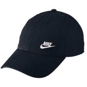 ナイキ レディース キャップ 帽子 Nike Twill H86 Adjustable Hat Black|fermart2-store