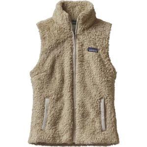パタゴニア レディース ベスト・ジレ トップス Patagonia Los Gatos Fleece Vest El Cap Khaki|fermart2-store
