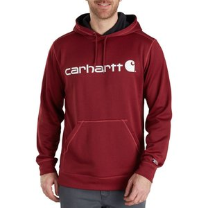カーハート Carhartt メンズ パーカー トップス force extremes signature graphic hoodie Dark Crimson Heather|fermart2-store