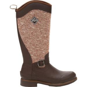マックブーツ レディース シューズ・靴 ハイキング・登山 Muck Boots Reign Supreme Winter Boots Chocolate Bison|fermart2-store