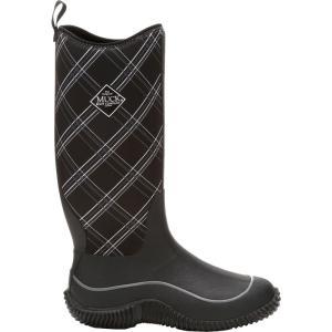 マックブーツ レディース シューズ・靴 ハイキング・登山 Muck Boot Hale Winter Boots Black Plaid|fermart2-store