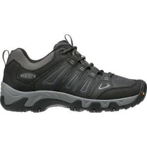 キーン メンズ シューズ・靴 ハイキング・登山 KEEN Oakridge Hiking Shoes Black/Gargoyle|fermart2-store
