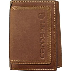 カーハート Carhartt メンズ 財布 detroit trifold wallet Brown|fermart2-store