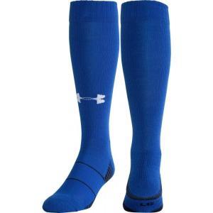 アンダーアーマー ユニセックス アメリカンフットボール Team Football OTC Socks 2 Pack Royal|fermart2-store