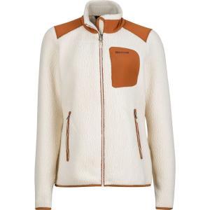 マーモット レディース フリース トップス Wiley Fleece Jacket Cream/Terra|fermart2-store