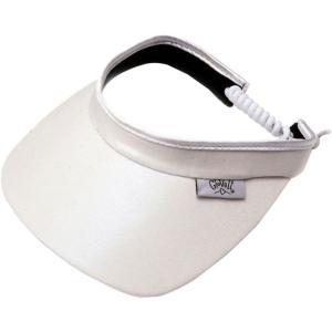 グローブイット Glove It レディース サンバイザー 帽子 Pattern Golf Visor White|fermart2-store