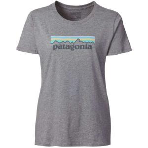 パタゴニア レディース トップス Tシャツ Patagonia Pastel P-6 Logo T-Shirt|fermart2-store