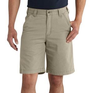 カーハート Carhartt メンズ ショートパンツ ボトムス・パンツ rugged flex rigby shorts Tan|fermart2-store