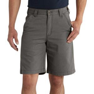カーハート Carhartt メンズ ショートパンツ ボトムス・パンツ rugged flex rigby shorts Gravel|fermart2-store