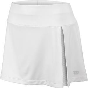 ウィルソン レディース ボトムス・パンツ テニス Wilson Late Summer Vent 12.5'' Tennis Skirt White fermart2-store