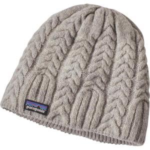 パタゴニア レディース ニット 帽子 Patagonia Cable Beanie Drifter Grey|fermart2-store