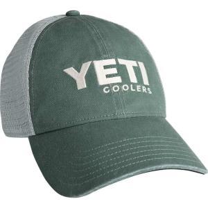 イエティ メンズ 帽子 キャップ YETI Washed Low Profile Trucker Cap|fermart2-store