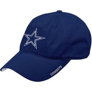 ダラス カウボーイズ メンズ キャップ 帽子 Merchandising Slouch Adjustable Navy Hat|fermart2-store