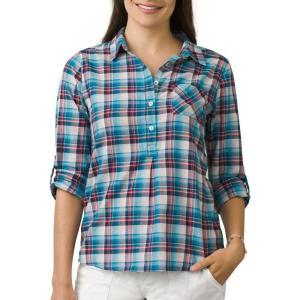 プラーナ prAna レディース トップス Gina Long Sleeve Shirt Cove|fermart2-store