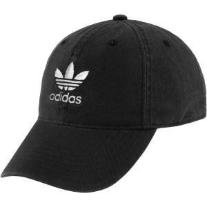 アディダス レディース キャップ 帽子 adidas Originals Relaxed Strapback Cap Black fermart2-store