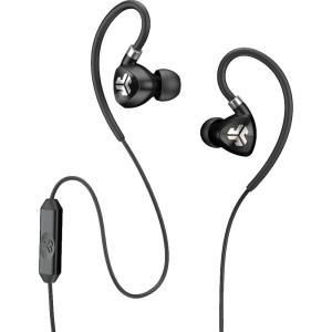 ジェイラボ ユニセックス テックアクセサリー JLab Fit 2.0 Sport Earbuds Black|fermart2-store