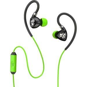ジェイラボ ユニセックス テックアクセサリー JLab Fit 2.0 Sport Earbuds Green|fermart2-store