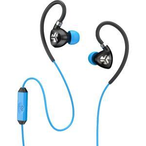 ジェイラボ ユニセックス テックアクセサリー JLab Fit 2.0 Sport Earbuds Blue|fermart2-store