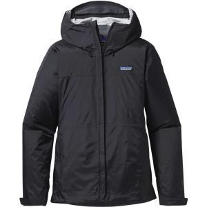 パタゴニア Patagonia レディース レインコート アウター Torrentshell Rain Jacket Black|fermart2-store
