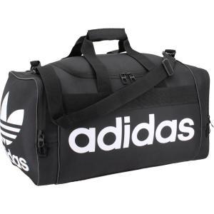 アディダス ユニセックス ボストンバッグ・ダッフルバッグ バッグ adidas Originals Santiago Duffle Bag Black/White|fermart2-store