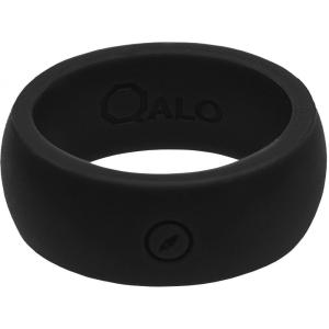 Qalo メンズ 指輪・リング ジュエリー・アクセサリー QALO Wedding Ring Black fermart2-store